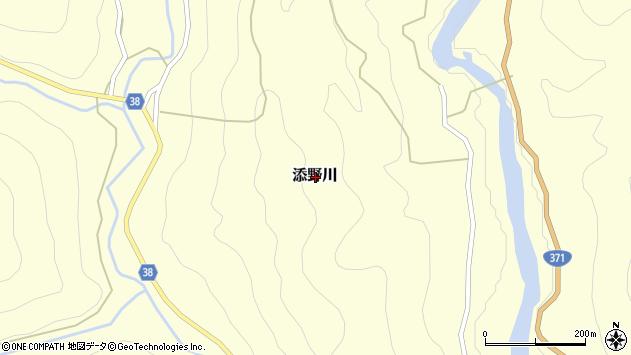 〒649-4441 和歌山県東牟婁郡古座川町添野川の地図