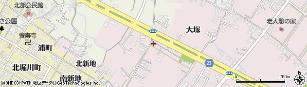 大分県中津市大塚271周辺の地図