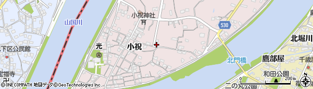 大分県中津市小祝498周辺の地図