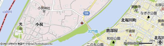 大分県中津市小祝368周辺の地図
