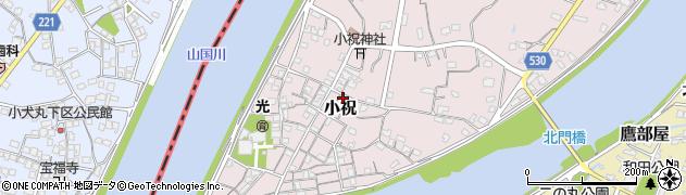 大分県中津市小祝314周辺の地図