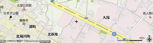 大分県中津市大塚301周辺の地図