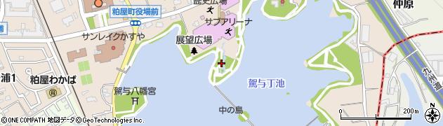 福岡県粕屋町(糟屋郡)駕与丁周辺の地図