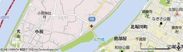 大分県中津市小祝372周辺の地図