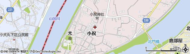 大分県中津市小祝506周辺の地図