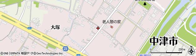 大分県中津市大塚613周辺の地図