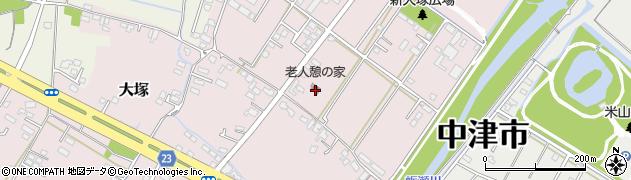 大分県中津市大塚1717周辺の地図