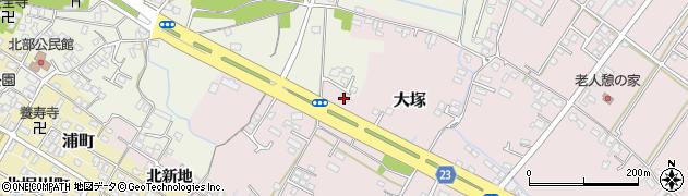 大分県中津市大塚316周辺の地図