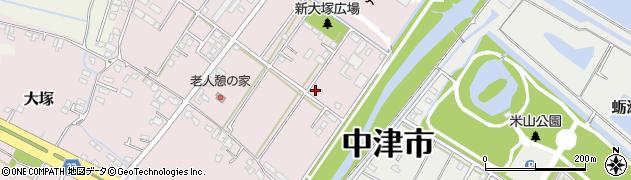 大分県中津市大塚665周辺の地図