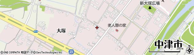 大分県中津市大塚617周辺の地図