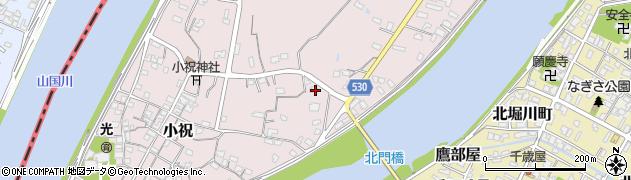 大分県中津市小祝460周辺の地図