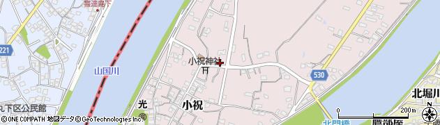 大分県中津市小祝652周辺の地図