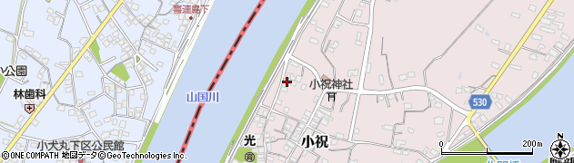 大分県中津市小祝267周辺の地図