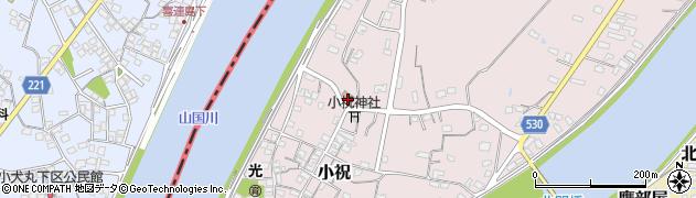 大分県中津市小祝509周辺の地図