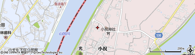 大分県中津市小祝282周辺の地図