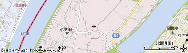 大分県中津市小祝466周辺の地図