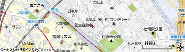 光紙工株式会社周辺の地図