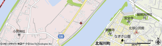 大分県中津市小祝384周辺の地図