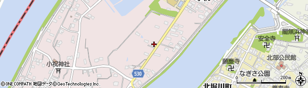 大分県中津市小祝431周辺の地図