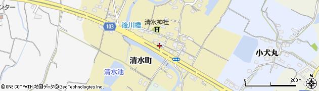 有限会社クリエイト周辺の地図
