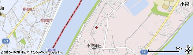 大分県中津市小祝631周辺の地図