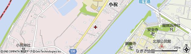 大分県中津市小祝401周辺の地図