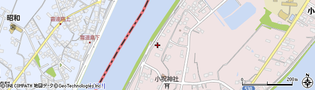 大分県中津市小祝512周辺の地図