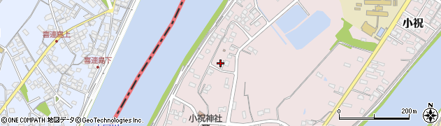大分県中津市小祝620周辺の地図