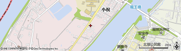 大分県中津市小祝399周辺の地図