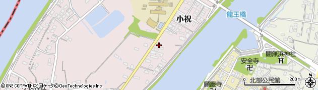 大分県中津市小祝398周辺の地図