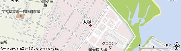 大分県中津市大塚755周辺の地図