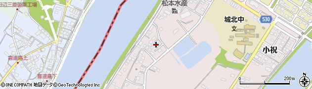 大分県中津市小祝552周辺の地図