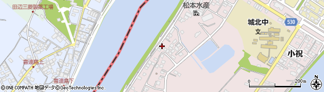 大分県中津市小祝240周辺の地図