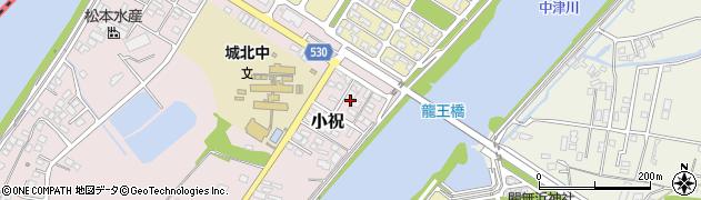 大分県中津市小祝425周辺の地図