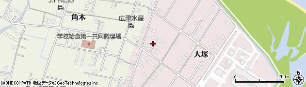 大分県中津市大塚831周辺の地図