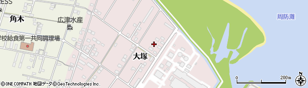 大分県中津市大塚750周辺の地図