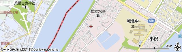 大分県中津市小祝536周辺の地図