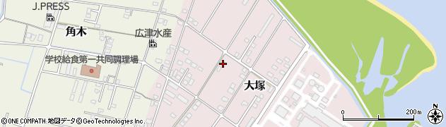 大分県中津市大塚801周辺の地図