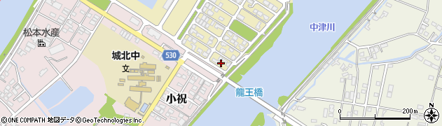 大分県中津市小祝新町97周辺の地図
