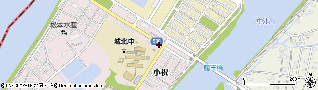 大分県中津市小祝252周辺の地図
