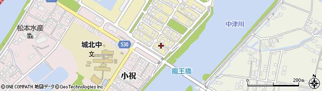 大分県中津市小祝新町93周辺の地図