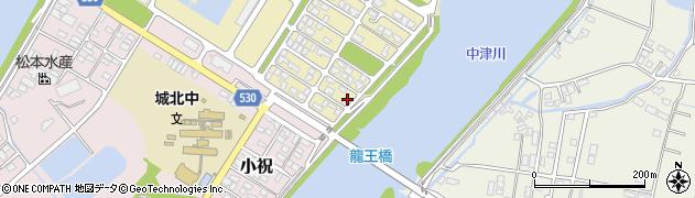 大分県中津市小祝新町90周辺の地図