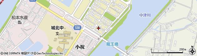 大分県中津市小祝新町94周辺の地図