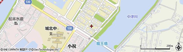 大分県中津市小祝新町89周辺の地図