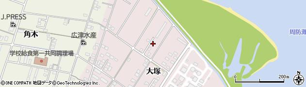 大分県中津市大塚815周辺の地図