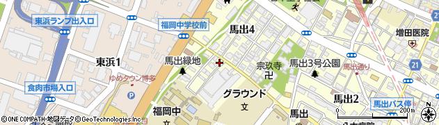 古賀商店周辺の地図
