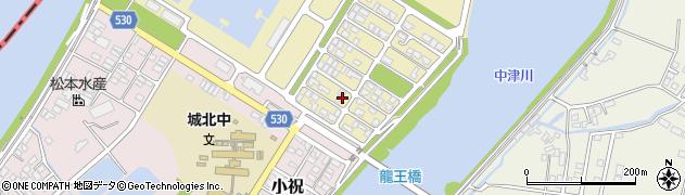大分県中津市小祝新町11周辺の地図