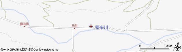 大分県国東市国東町東堅来685周辺の地図