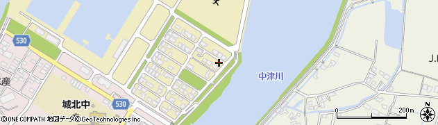 大分県中津市小祝新町63周辺の地図