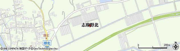 福岡県糸島市志摩野北周辺の地図